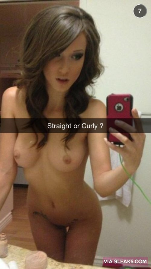 Straight or Curly from cake electra snapchat