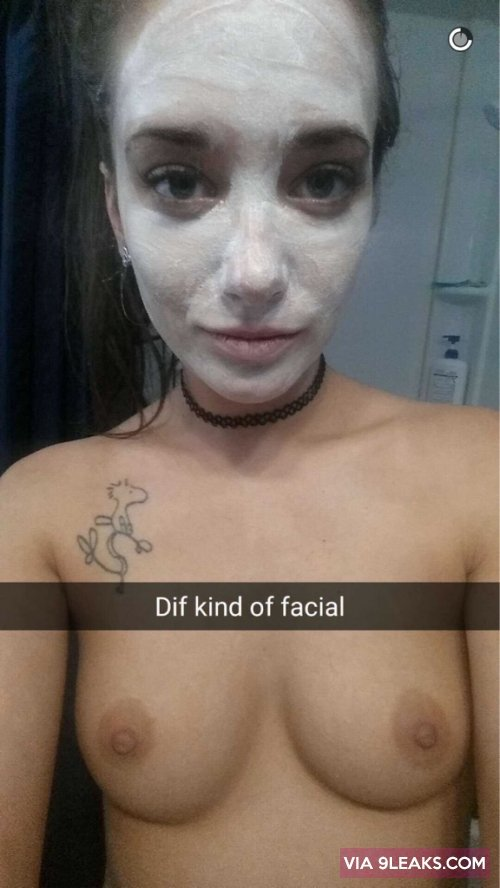 A different kind of facial from cake electra snapchat