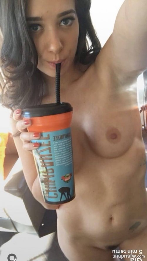 morning treat from gia paige snapchat